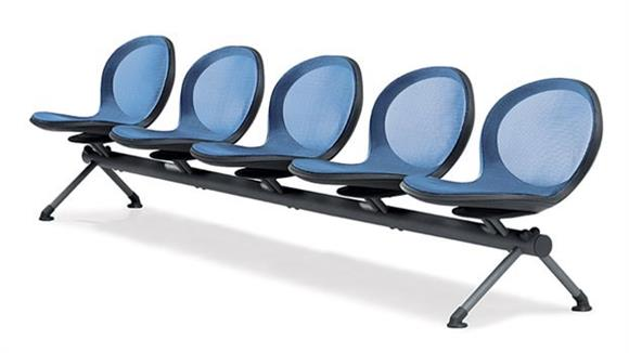 Side & Guest Chairs OFM Net Series 5 Seat Beam