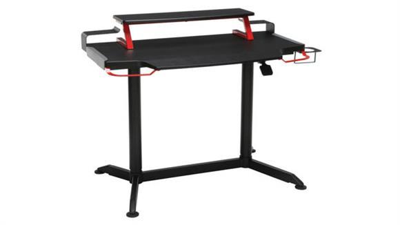 """Adjustable Height Desks & Tables OFM 42""""W Height Adjustable Gaming Desk"""