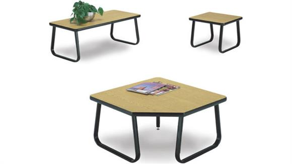 End Tables OFM 3 Piece Reception Table Set