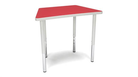 Activity Tables OFM Trapezoid Large Leg Table
