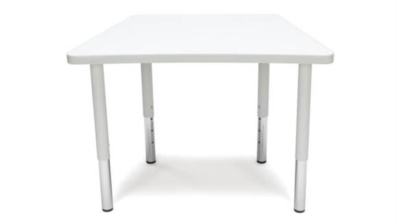 Activity Tables OFM Trapezoid Small Leg Table