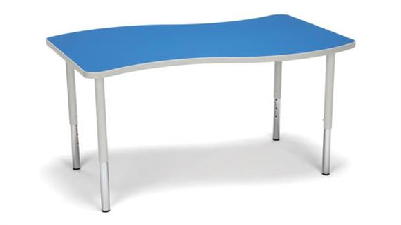 Activity Tables OFM Wave Small Top Large Leg Table