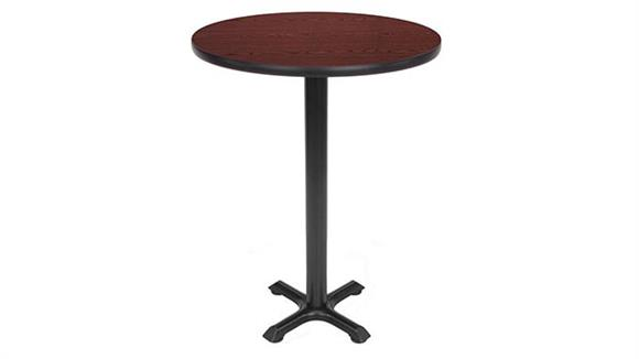 "Pub & Bistro Tables OFM 30"" Round Cafe Height Table"