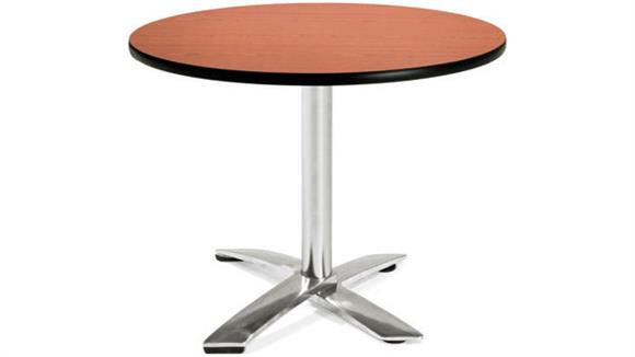 "Folding Tables OFM 36"" Round Flip Top Table"