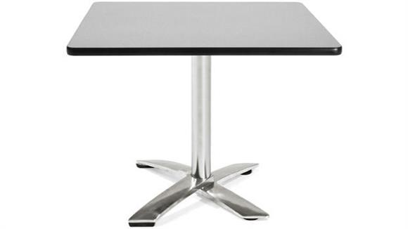"Folding Tables OFM 36"" Square Flip Top Table"