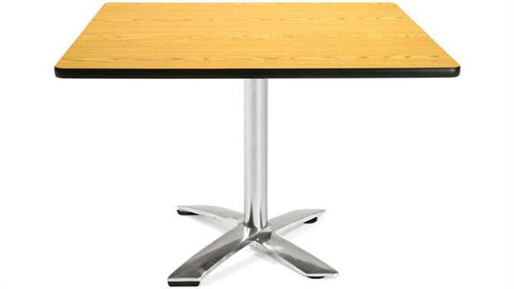 "Folding Tables OFM 42"" Sqaure Flip Top Table"