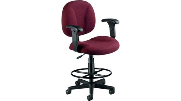 Office Chairs OFM Superchair Stool with Arms