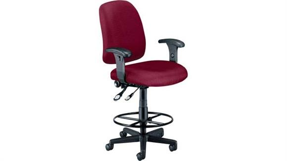 Drafting Stools OFM Posture Task Stool with Arms