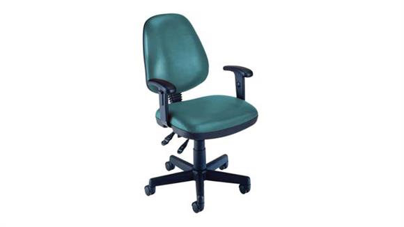 Office Chairs OFM Vinyl Posture Task Chair with Arms