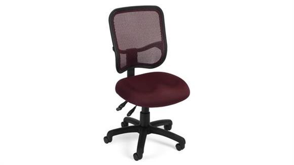 Office Chairs OFM Modern Mesh Ergonomic Task Chair