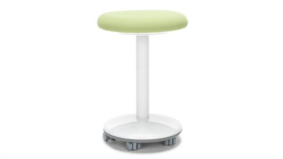 "Active - Balance - Wobble Stools OFM Static Stool 20"" High - Vinyl, with Casters"