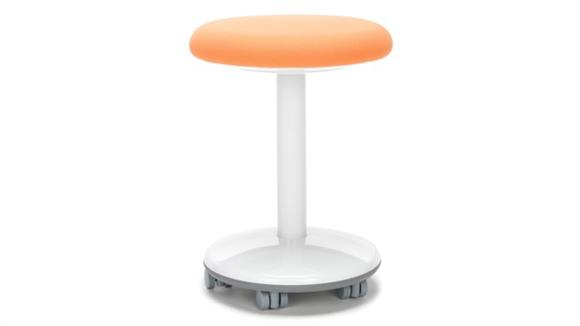 "Active - Balance - Wobble Stools OFM Static Stool 20"" High - Fabric, with Casters"