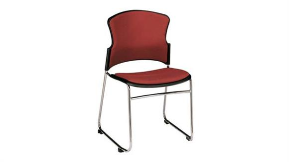 Stacking Chairs OFM Stack Chair with Fabric Seat and Back