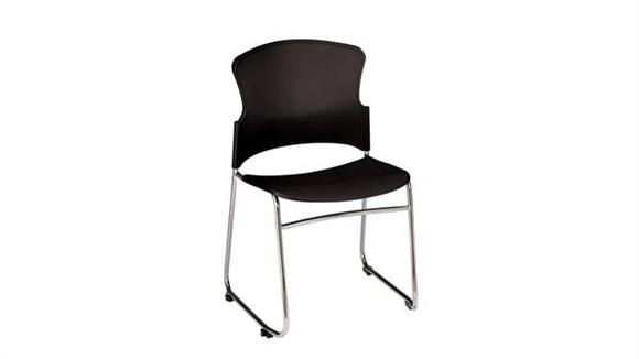Stacking Chairs OFM Stack Chair with Plastic Seat and Back
