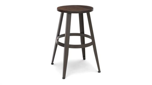 """Counter Stools OFM Wooden Stool 24"""""""