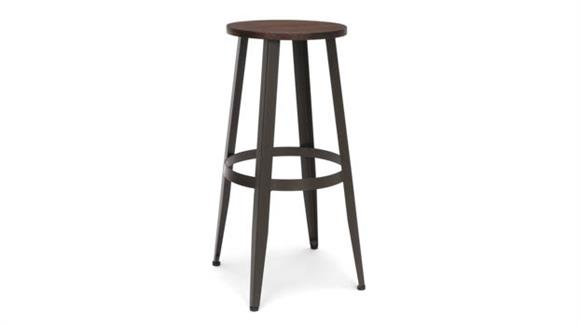 """Counter Stools OFM Wooden Stool 30"""""""