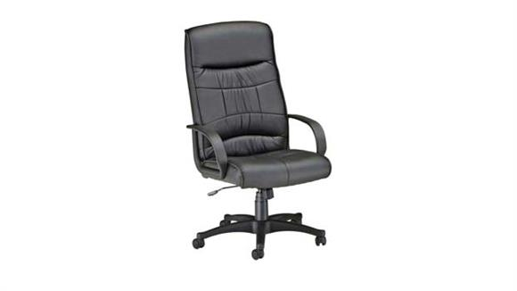Office Chairs OFM Leatherette High Back Chair