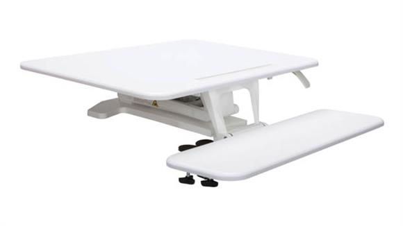 Adjustable Height Desks & Tables OFM Sit to Stand Small Workstation