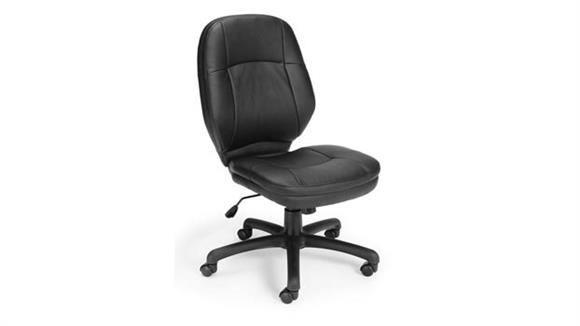 Office Chairs OFM Stimulus Armless Mid Back Chair