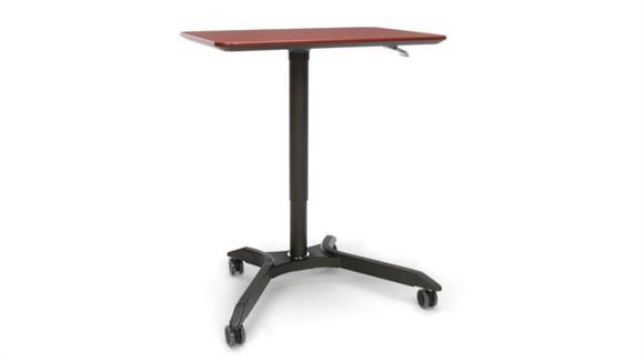 Adjustable Height Desks & Tables OFM Height Adjustable Mobile Podium