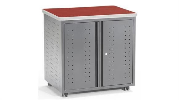 Utility Carts OFM Mobile Locking Utility Table
