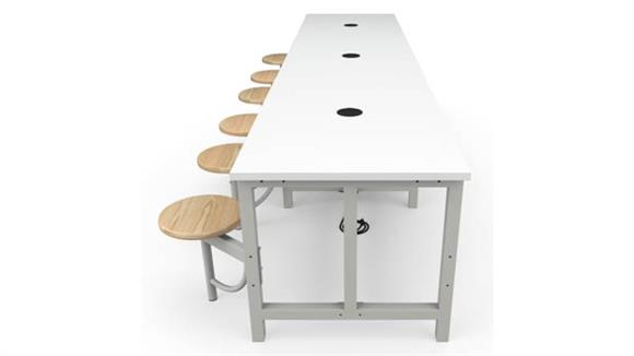 General Tables OFM Standard Height 6 Seat Table