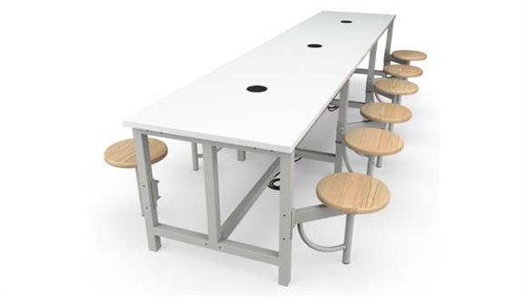 General Tables OFM Standard Height 12 Seat Table
