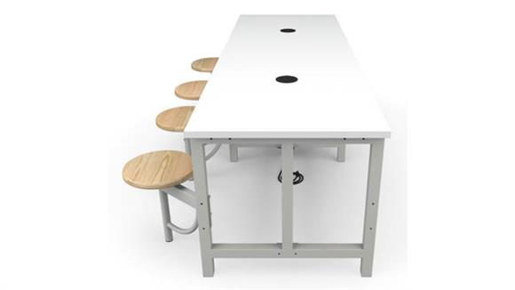 General Tables OFM Standard Height 4 Seat Table