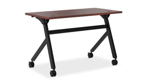 """Computer Desks OFM 48""""W Flip Base Table"""