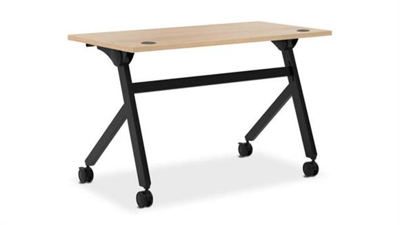 "Computer Desks OFM 48""W Flip Base Table"