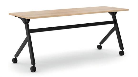 """Computer Desks OFM 72""""W Flip Base Table"""
