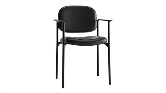 Stacking Chairs OFM Scatter Leather Stacking Chair