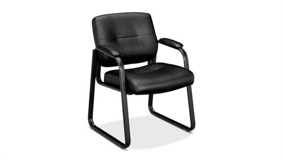Side & Guest Chairs OFM Leather Guest Chair