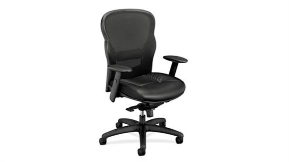 Office Chairs OFM Wave Leather Mesh Task Chair