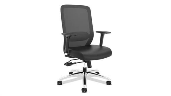 Office Chairs OFM Exposure Leather Mesh Task Chair