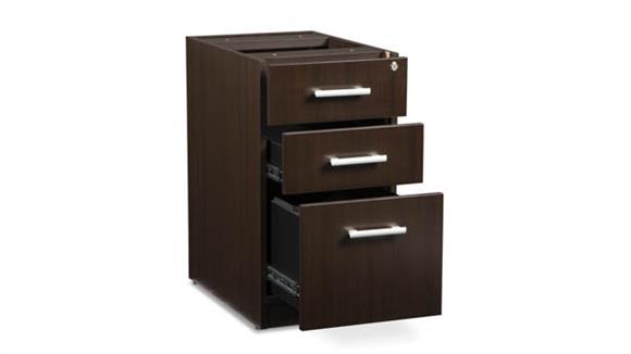File Cabinets Vertical OFM 3 Drawer File Pedestal