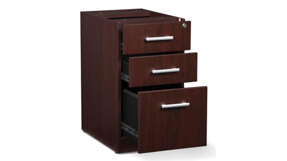 File Cabinets Vertical OFM 3 Drawer File Pedestal