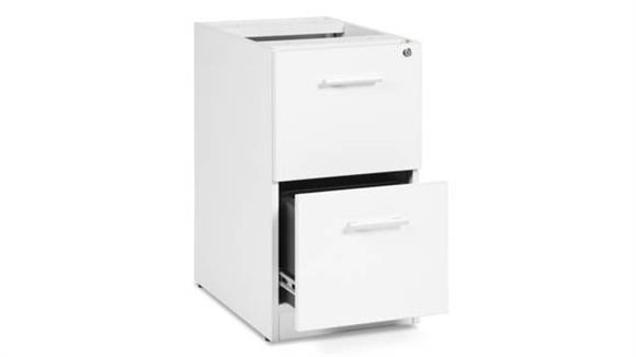 File Cabinets Vertical OFM 2 Drawer File Pedestal