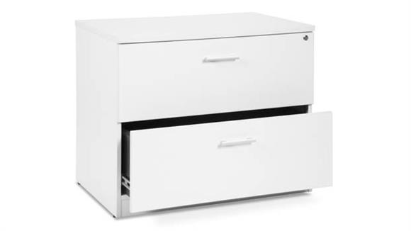 "File Cabinets Lateral OFM 36""W 2 Drawer Lateral File"