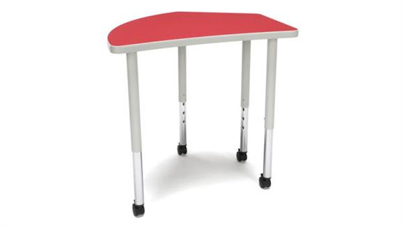 Activity Tables OFM Crest Large Leg Table with Casters
