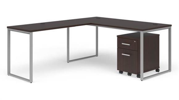 """L Shaped Desks OFM 72"""" L-Desk Set"""