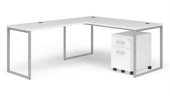 """L Shaped Desks OFM 66"""" L-Desk Set"""
