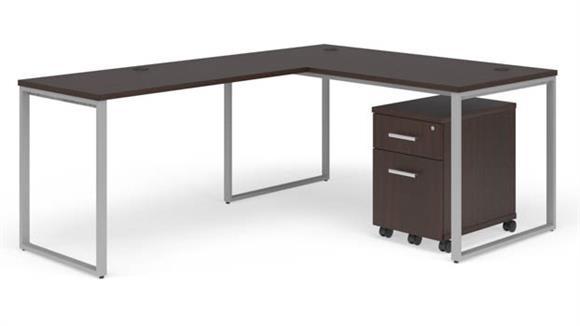 """L Shaped Desks OFM 60"""" L-Desk Set"""