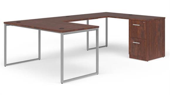 """U Shaped Desks OFM 60"""" U-Desk Set"""