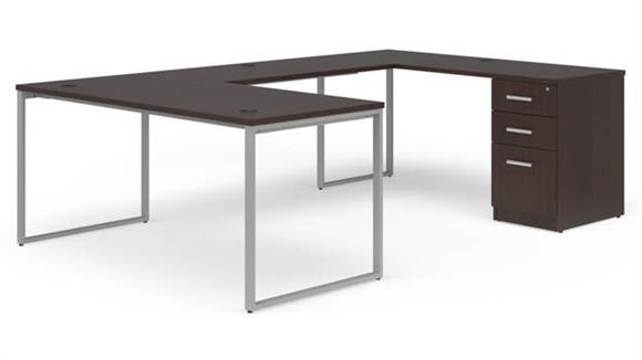 """U Shaped Desks OFM 66"""" U-Desk Set"""