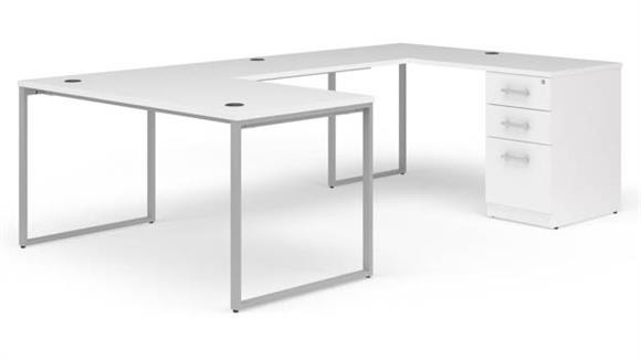 "U Shaped Desks OFM 60"" U-Desk Set"