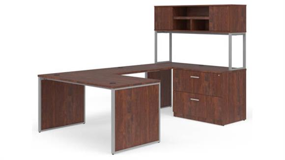 "U Shaped Desks OFM 60"" U-Shaped Desk Set"