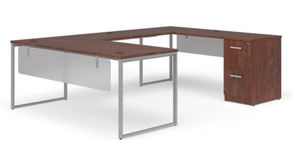 """U Shaped Desks OFM 72"""" U-Shaped Desk Set"""