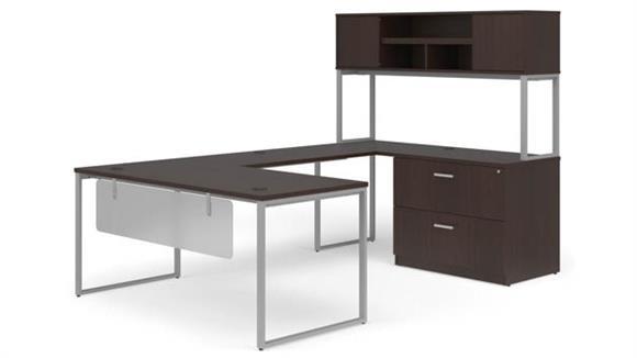 """U Shaped Desks OFM 66"""" U-Shaped Desk Set"""
