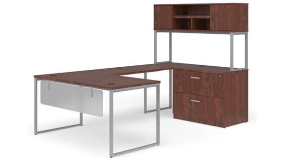 """U Shaped Desks OFM 60"""" U-Shaped Desk Set"""
